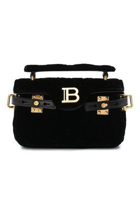 Женская сумка BALMAIN черного цвета, арт. UN1S494/TVTW | Фото 1