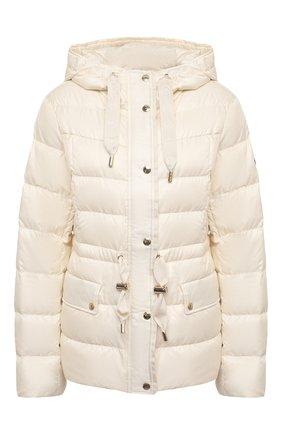 Женский пуховая куртка MICHAEL MICHAEL KORS белого цвета, арт. MU02J6C7T3 | Фото 1