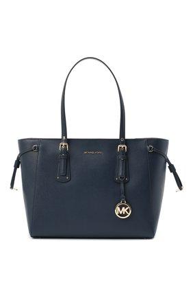Женский сумка-тоут voyager medium MICHAEL MICHAEL KORS темно-синего цвета, арт. 30H7GV6T8L | Фото 1