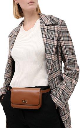 Женская поясная сумка mott MICHAEL MICHAEL KORS коричневого цвета, арт. 30S8G0XN1L   Фото 2