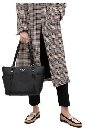 Женский сумка-шопер nomad MICHAEL MICHAEL KORS черного цвета, арт. 30T0SNXT2L | Фото 2