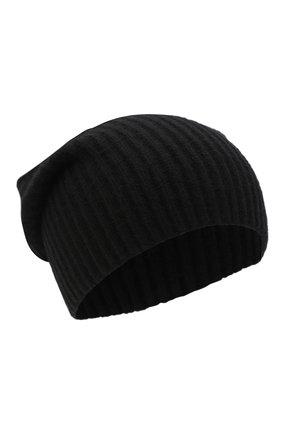 Женский кашемировая шапка JOSEPH черного цвета, арт. JF004840 | Фото 1