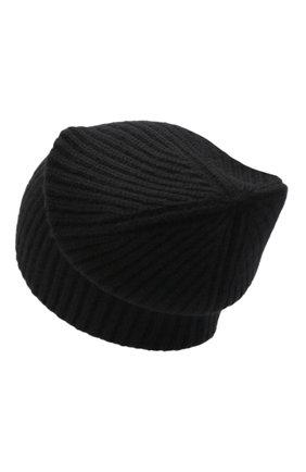 Женский кашемировая шапка JOSEPH черного цвета, арт. JF004840 | Фото 2