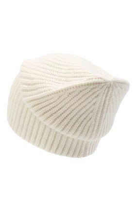 Женский кашемировая шапка JOSEPH белого цвета, арт. JF004840 | Фото 2