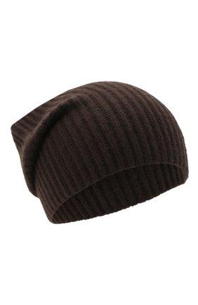 Женский кашемировая шапка JOSEPH коричневого цвета, арт. JF004840 | Фото 1