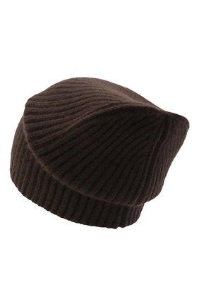 Женский кашемировая шапка JOSEPH коричневого цвета, арт. JF004840 | Фото 2