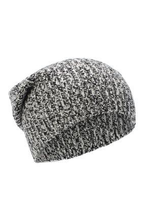 Женский кашемировая шапка JOSEPH черно-белого цвета, арт. JF004840 | Фото 1