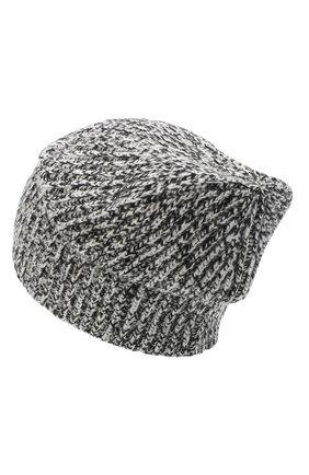 Женский кашемировая шапка JOSEPH черно-белого цвета, арт. JF004840 | Фото 2