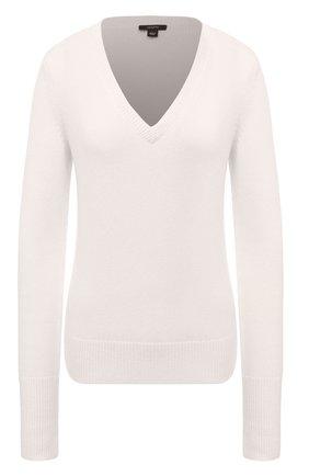 Женский кашемировый свитер JOSEPH белого цвета, арт. JF004374   Фото 1