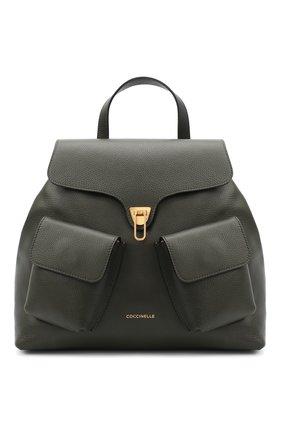 Женский рюкзак beat soft medium COCCINELLE зеленого цвета, арт. E1 GF6 14 01 01 | Фото 1
