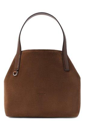 Женская сумка mila suede COCCINELLE коричневого цвета, арт. E1 GE6 11 02 01 | Фото 1