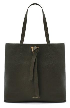 Женский сумка-тоут joy COCCINELLE зеленого цвета, арт. E1 GL5 11 01 01 | Фото 1