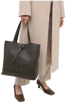 Женский сумка-тоут joy COCCINELLE зеленого цвета, арт. E1 GL5 11 01 01 | Фото 2