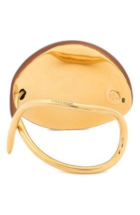 Женский браслет BOTTEGA VENETA коричневого цвета, арт. 629400/VE3H2 | Фото 2