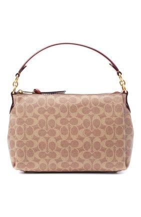 Женская сумка shay COACH коричневого цвета, арт. 93847 | Фото 1