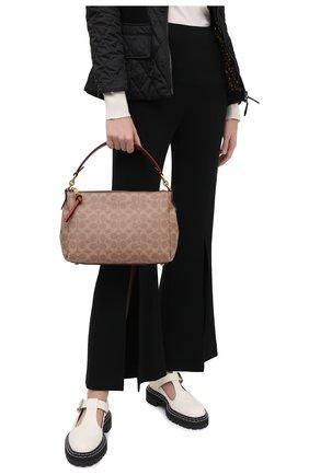Женская сумка shay COACH коричневого цвета, арт. 93847 | Фото 2