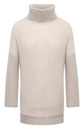 Женский кашемировый свитер ALICE + OLIVIA бежевого цвета, арт. CL000S35716 | Фото 1