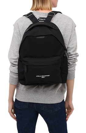 Женский рюкзак falabella STELLA MCCARTNEY черного цвета, арт. 570174/W8715 | Фото 2