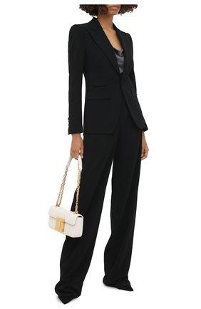Женский костюм из вискозы DSQUARED2 черного цвета, арт. S75FT0210/S48427 | Фото 1