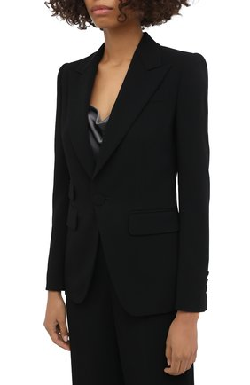 Женский костюм из вискозы DSQUARED2 черного цвета, арт. S75FT0210/S48427 | Фото 2