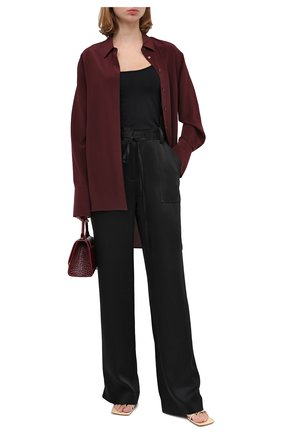 Женские брюки TOM FORD черного цвета, арт. PAW327-FAX727 | Фото 2