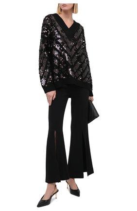 Женские кожаные туфли TOM FORD черного цвета, арт. W2730T-LCL097 | Фото 2