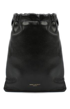 Женская сумка SAINT LAURENT черного цвета, арт. 640714/1EL0J   Фото 1
