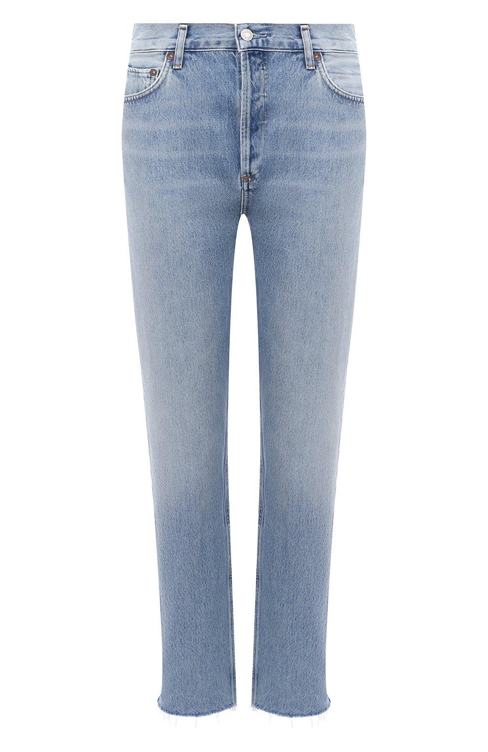 Женские джинсы AGOLDE синего цвета, арт. A105F-813 | Фото 1