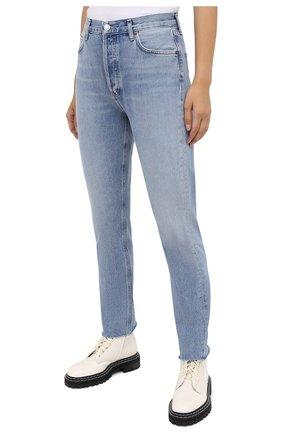 Женские джинсы AGOLDE синего цвета, арт. A105F-813 | Фото 3