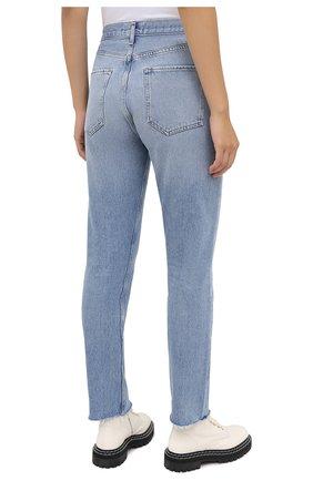 Женские джинсы AGOLDE синего цвета, арт. A105F-813 | Фото 4