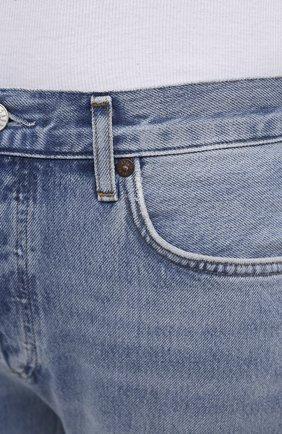 Женские джинсы AGOLDE синего цвета, арт. A105F-813 | Фото 5