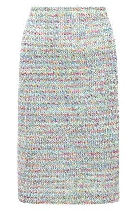 Женская юбка ST. JOHN разноцветного цвета, арт. K7200C1 | Фото 1