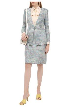 Женская юбка ST. JOHN разноцветного цвета, арт. K7200C1 | Фото 2