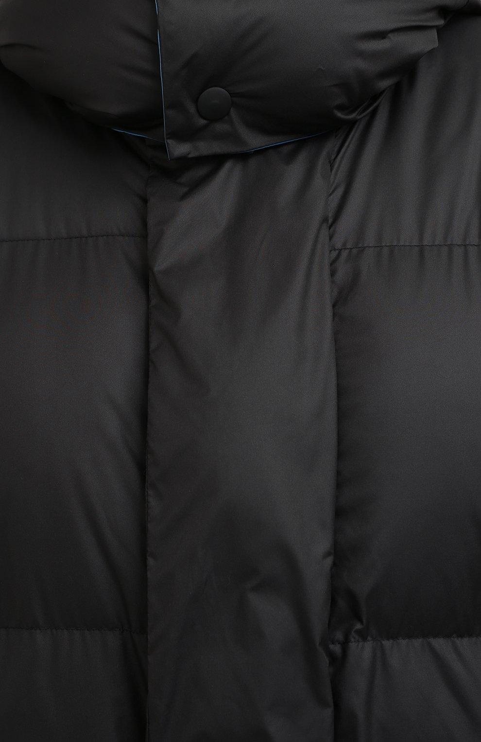 Женская куртка STELLA MCCARTNEY черного цвета, арт. 601724/SPN04 | Фото 5
