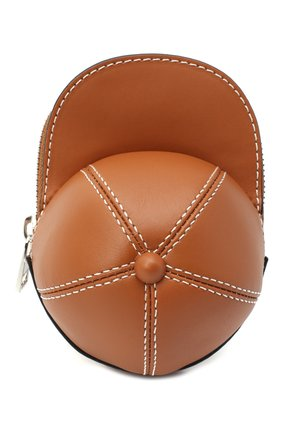Женская сумка nano cap JW ANDERSON коричневого цвета, арт. HB0232 LA0001 | Фото 1