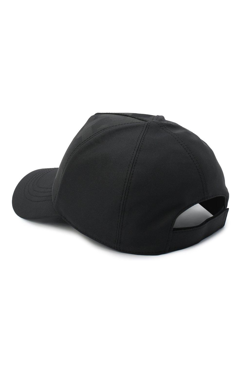 Мужской бейсболка ZEGNA COUTURE черного цвета, арт. Z8I51/B8B | Фото 2