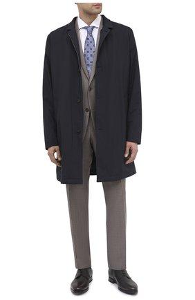 Мужской кожаные дерби BARRETT темно-коричневого цвета, арт. B111U016.3/CERV0 ASP0RTABILE | Фото 2