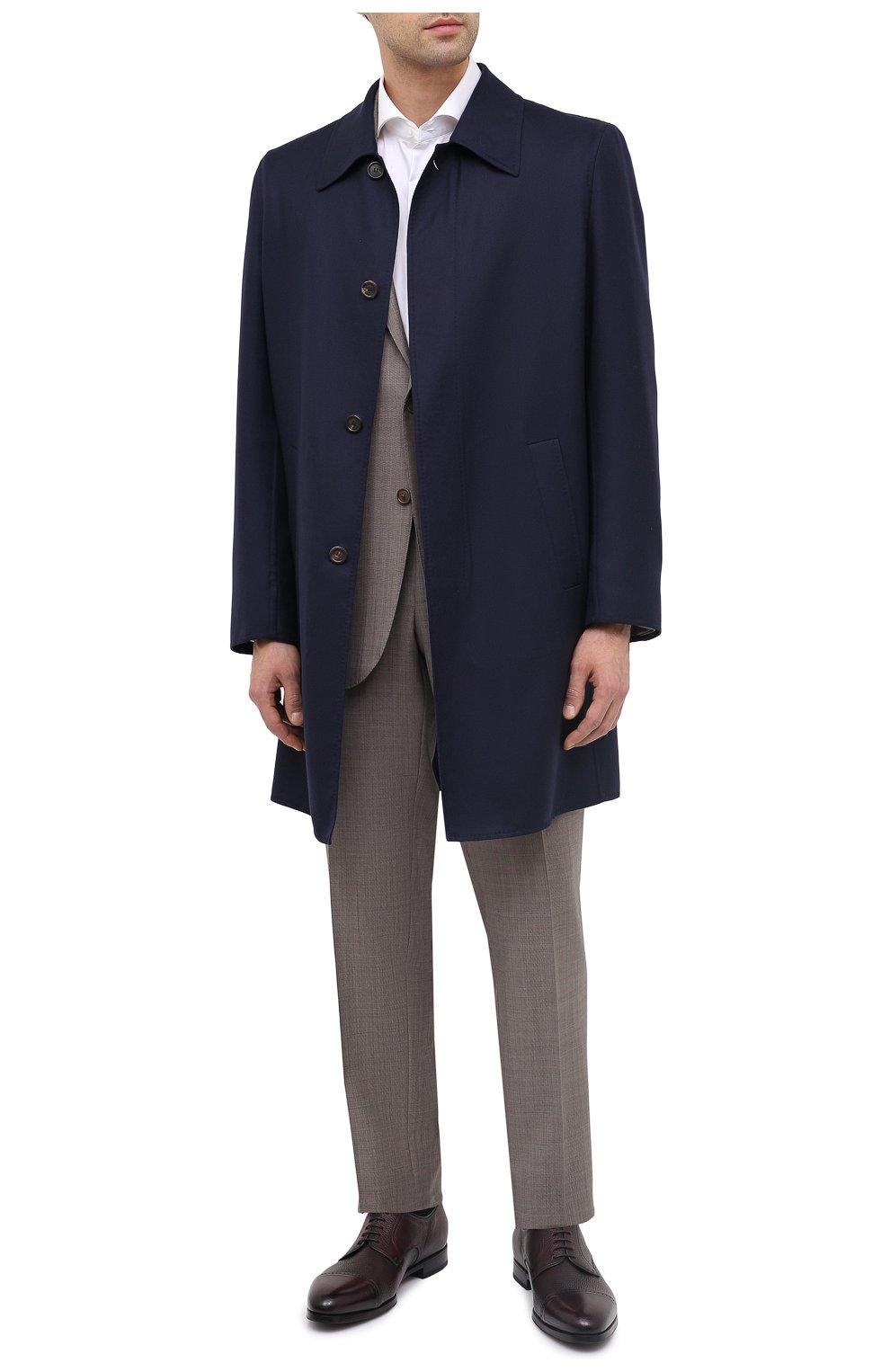 Мужские кожаные дерби BARRETT бордового цвета, арт. B111U016.4/CERV0 ASP0RTABILE | Фото 2