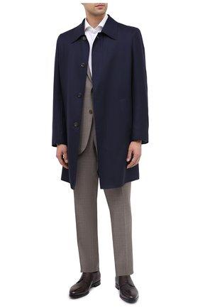 Мужской кожаные дерби BARRETT бордового цвета, арт. B111U016.4/CERV0 ASP0RTABILE | Фото 2