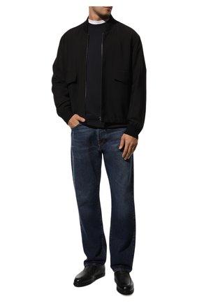 Мужские кожаные ботинки DOUCAL'S черного цвета, арт. DU2654ED0-UM019NN00 | Фото 2