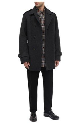 Мужские кожаные ботинки OFFICINE CREATIVE черного цвета, арт. ANAT0MIA/16/BUFAL0 V | Фото 2
