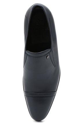 Мужские кожаные лоферы ALDO BRUE темно-синего цвета, арт. AB602FPK-NL.P.2D70R | Фото 5