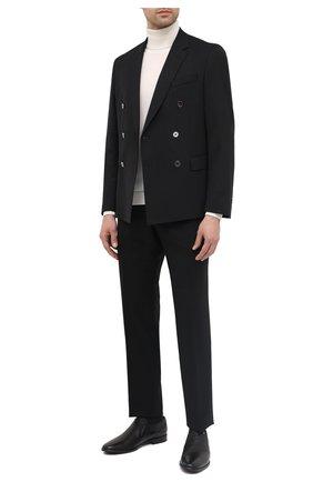 Мужские кожаные лоферы ALDO BRUE черного цвета, арт. AB7114.MP.P.FF90CPB | Фото 2