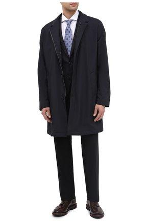 Мужской кожаные дерби PREMIATA темно-коричневого цвета, арт. 31281/C0RTINA | Фото 2