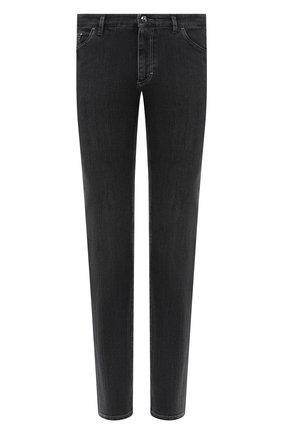 Мужские джинсы ZILLI серого цвета, арт. MCU-00071-SSN01/S001 | Фото 1
