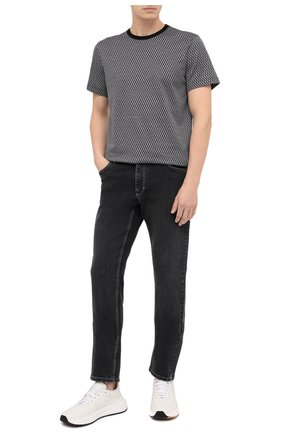 Мужские джинсы ZILLI серого цвета, арт. MCU-00071-SSN01/S001 | Фото 2