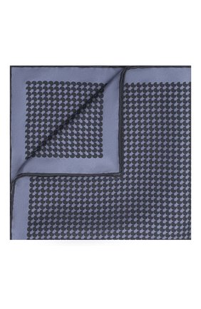Мужской шелковый платок TOM FORD фиолетового цвета, арт. 8TF100/TF312 | Фото 1