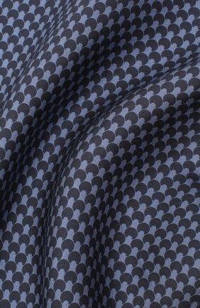 Мужской шелковый платок TOM FORD фиолетового цвета, арт. 8TF100/TF312 | Фото 2