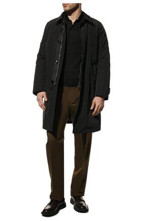 Мужской пуховое пальто TOM FORD черного цвета, арт. BV041/TF0875 | Фото 2