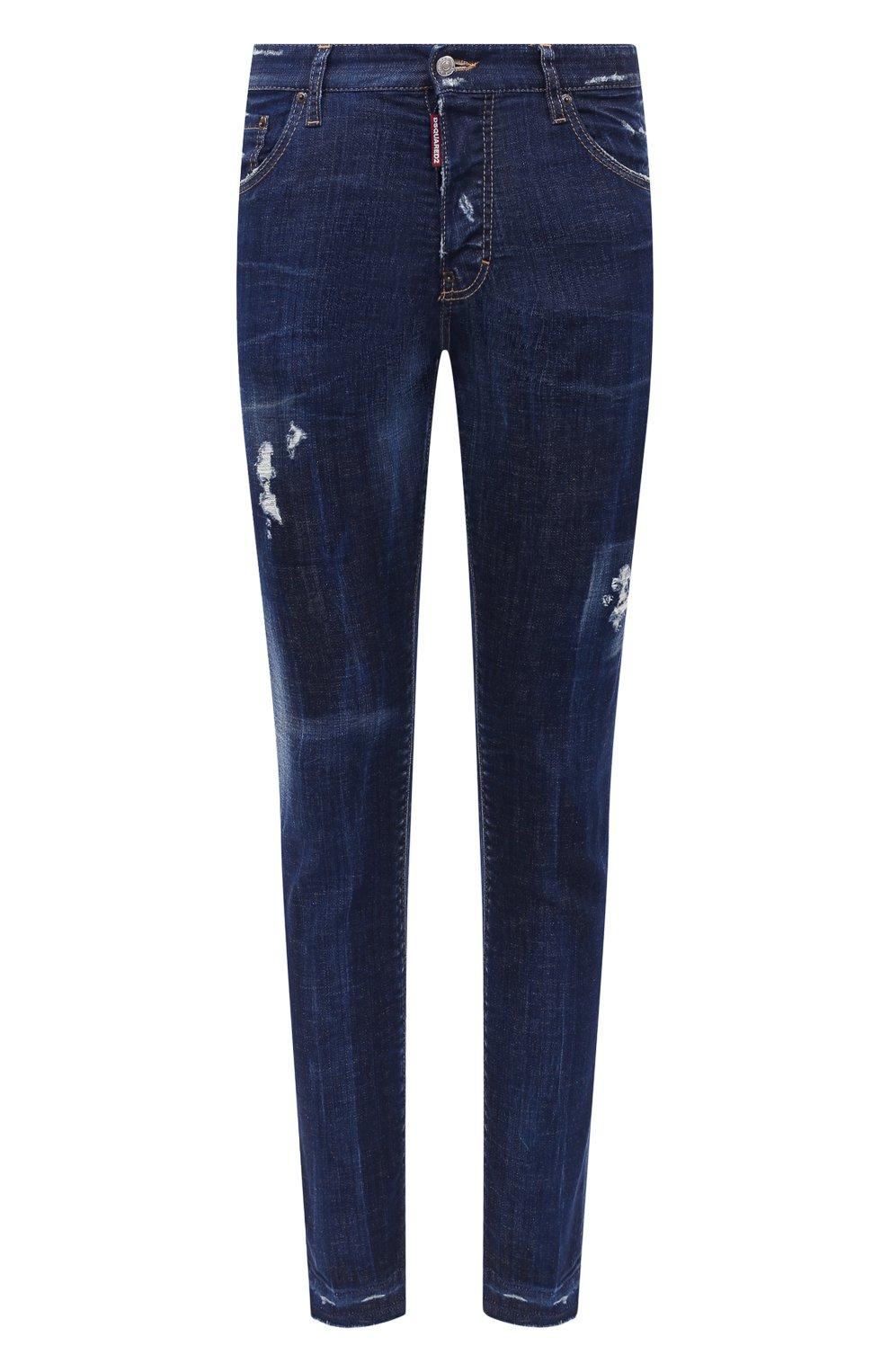 Мужские джинсы DSQUARED2 синего цвета, арт. S71LB0789/S30342   Фото 1